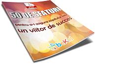 eBook in format pds cadou. Ghidul 50 sfaturi pentru a-i asigura copilului tau un viitor de succes va fi transmis prin email dupa efectuarea comenzii
