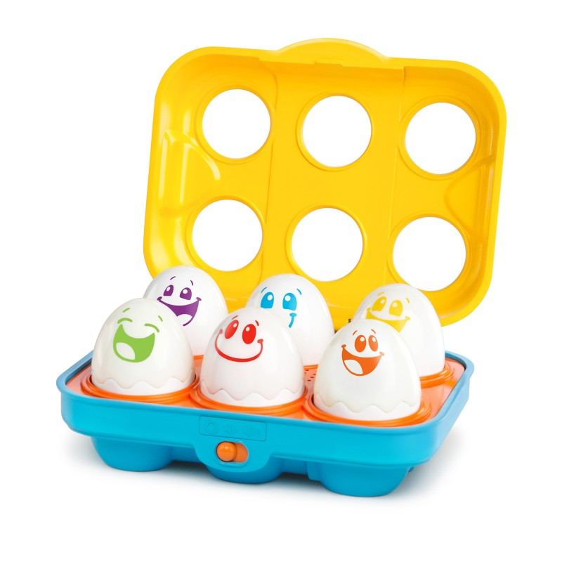 Bright Starts – 52125 Jucarie Put N Shake Eggs - Giggling Gourmet™