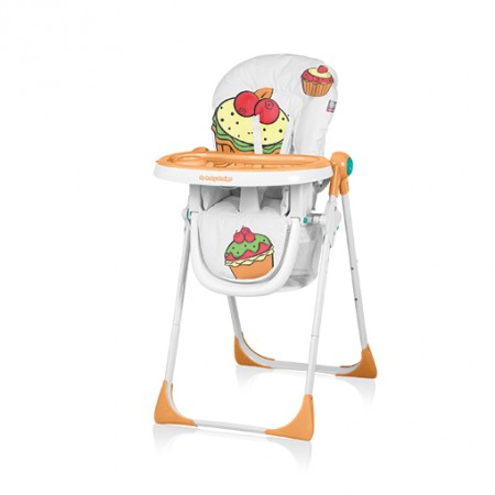Baby Design Cookie 01 Peach - Scaun De Masa