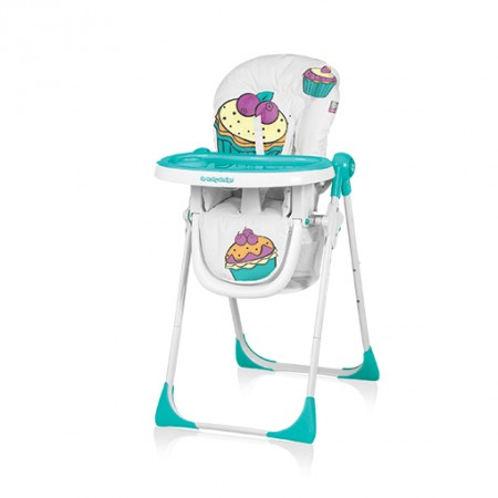 Baby Design Cookie 05 Turquoise - Scaun De Masa