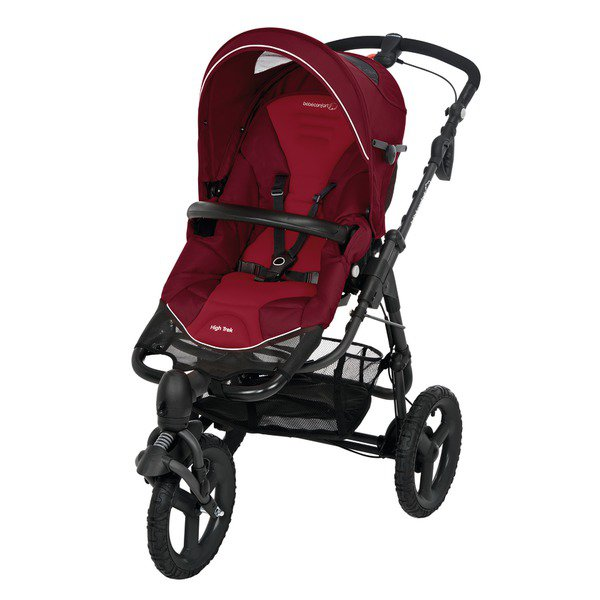 Carucior High Trek Bebe Confort Raspberry Red