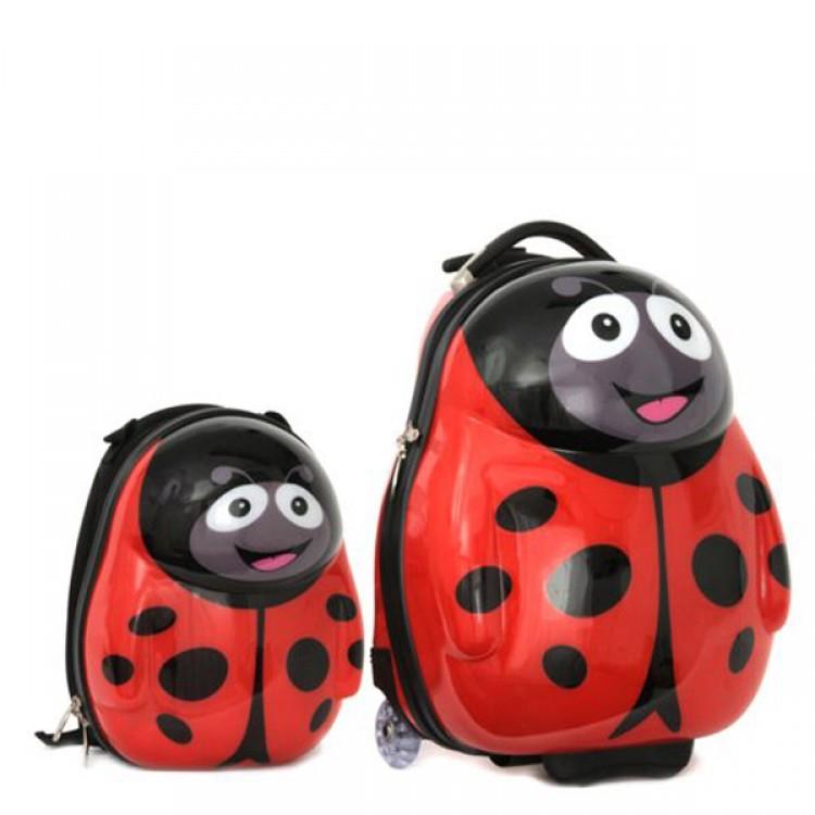 Ghiozdan si valiza Polka the Ladybird