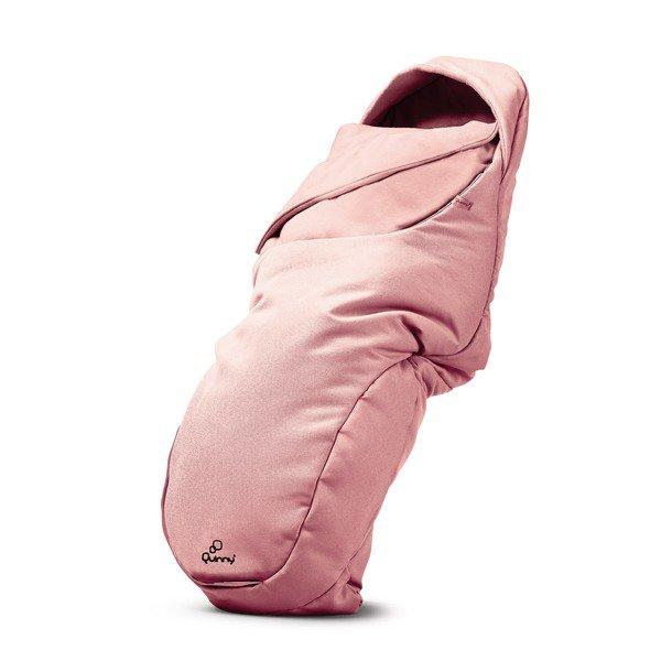 Salopeta Bebelus (tip Footmuff) Quinny Pink Pastel