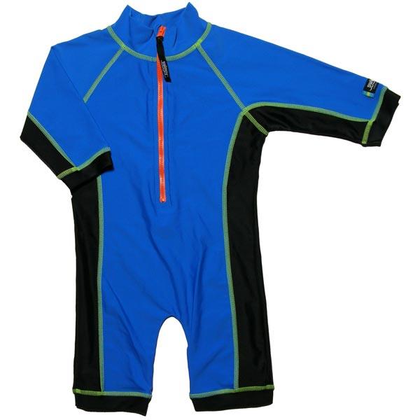 Costum de baie blue black marime 98- 104 protectie UV Swimpy