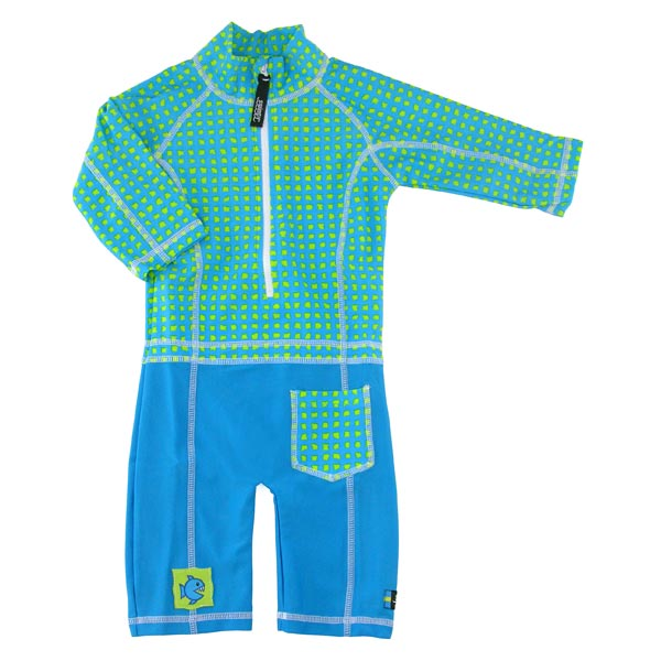 Costum de baie Baby Fish marime 86- 92 protectie UV Swimpy