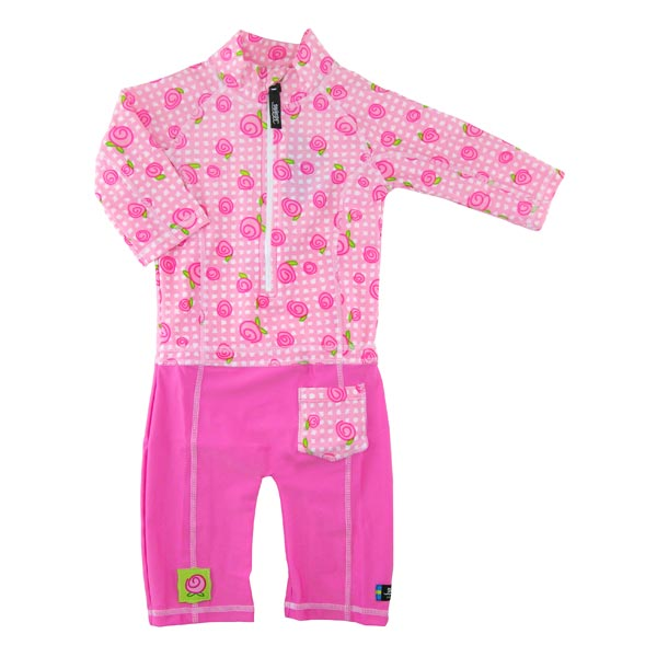 Costum de baie Baby Rose protectie UV marimea 74- 80 Swimpy