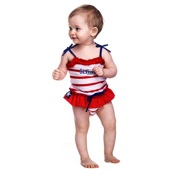 Costum de baie SeaLife red marime L Swimpy