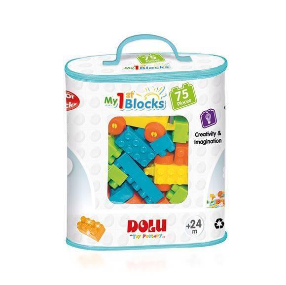 Primele cuburi de construit- 75 piese