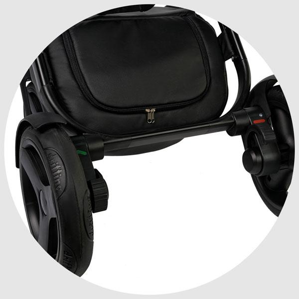 Carucior 3 in 1 Topaz Lux Black