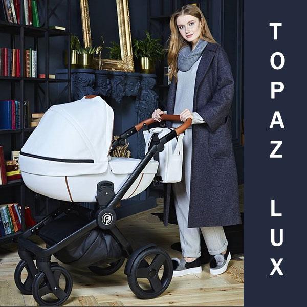 Carucior 3 in 1 Topaz Lux White