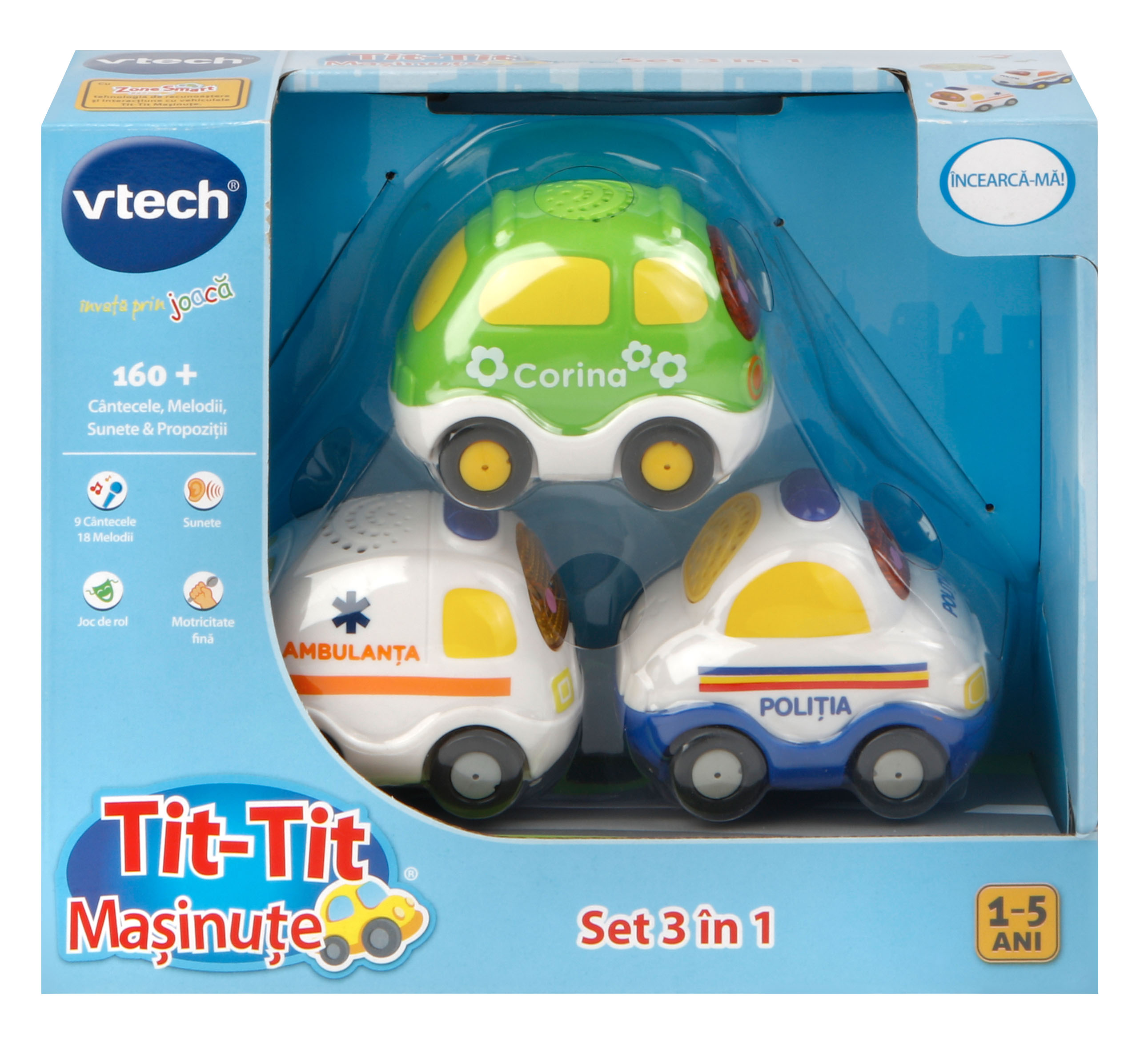 TIT TIT SET MASINI 3 IN 1 - VT205893
