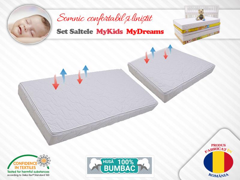 Set saltele MyKids MyDreams II 120X70X10 50X70X10 imagine
