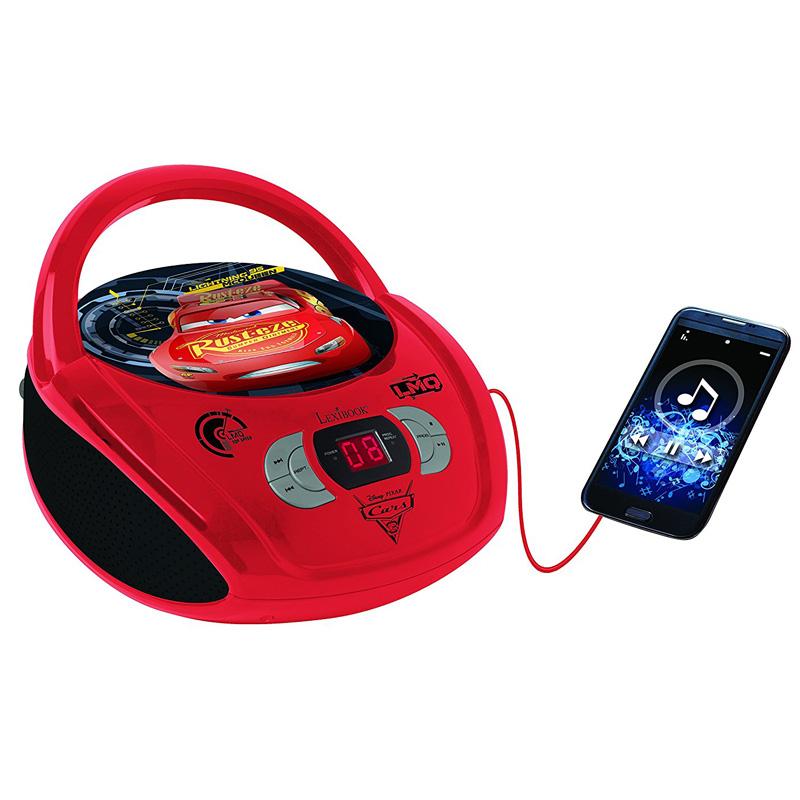 BOOMBOX RADIO/ CD PLAYER DISNEY CARS