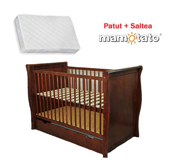 Patut Multifunctional Regal Venghe + Saltea Cocos