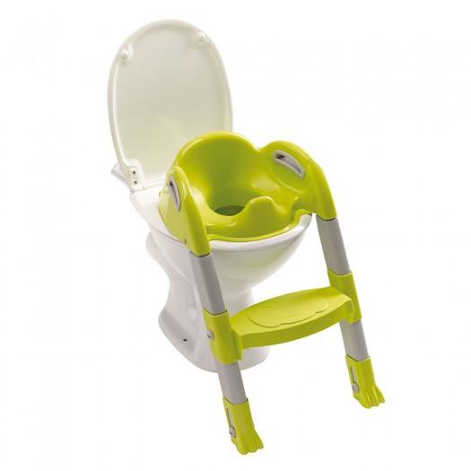 Reductor pentru toaleta cu scarita Kiddyloo-Verde