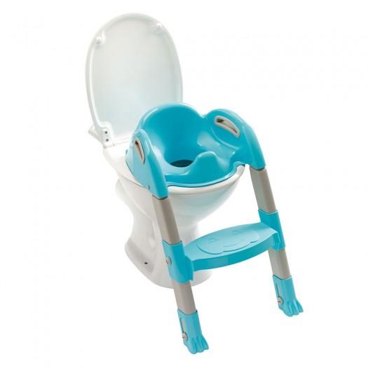 Reductor pentru toaleta cu scarita Kiddyloo-Turcoaz