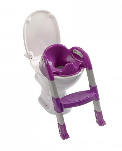 Reductor pentru toaleta cu scarita Kiddyloo-Purple