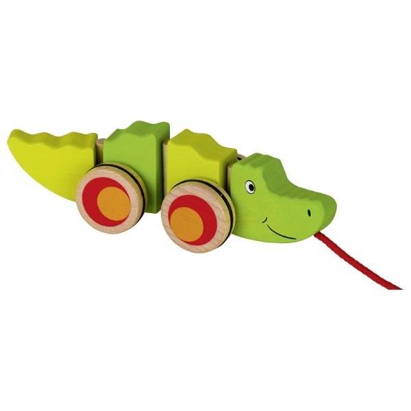 Jucarie de tras Crocodilul Groki imagine