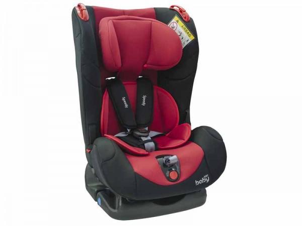 Scaun auto Speedy pentru copii rosu Just Baby imagine