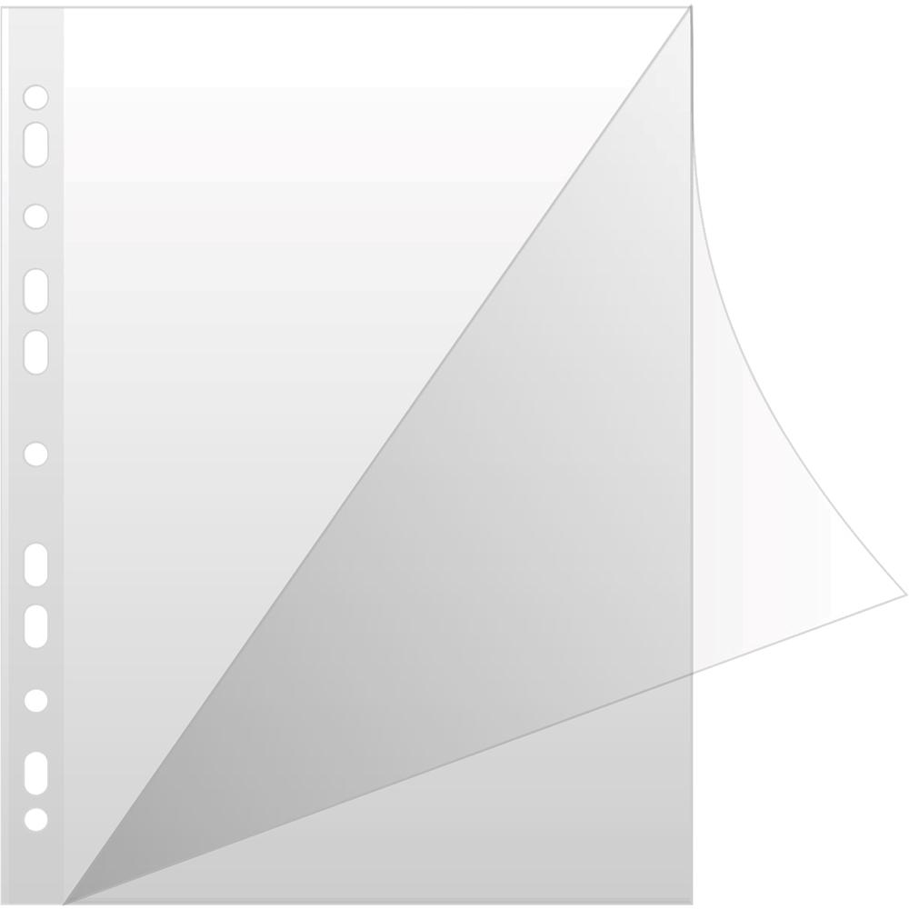 File de protectie deschidere in L A4 transparent 50 microni imagine