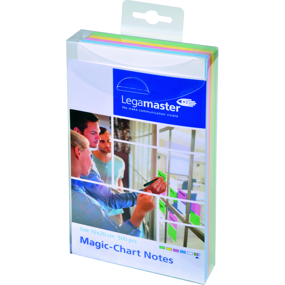 Legamaster Magic-Chart Set notite colorate 10x20 500 foiset