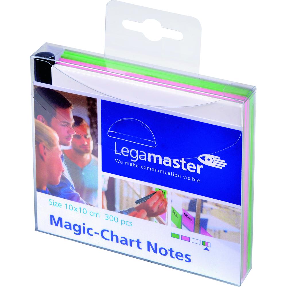 Legamaster Magic-Chart Set notite colorate 10x10 300 foiset