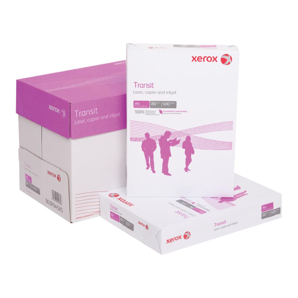 Hartie Xerox TransitA4 80 gmp 500 coli