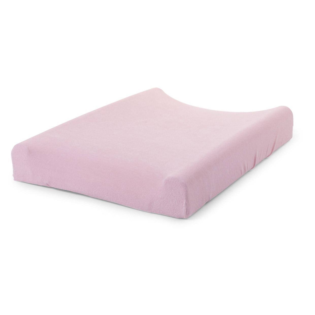 Husa pentru saltea de infasat Tricot Pastel Old Pink 180g imagine