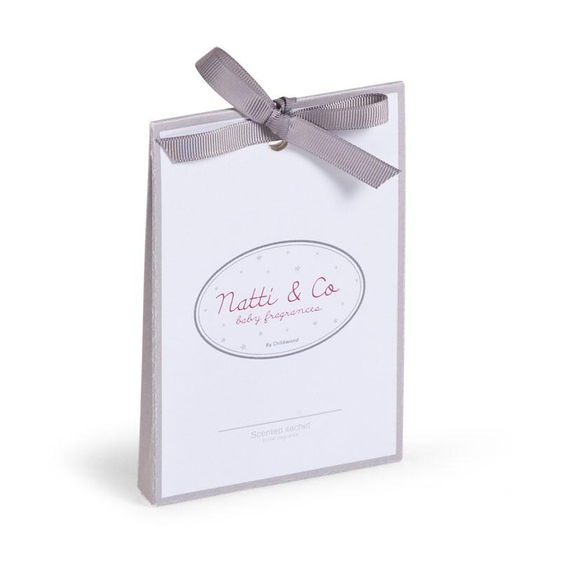 Saculeti parfumati Natti & Co gri pentru camera bebe - 6 bucati imagine