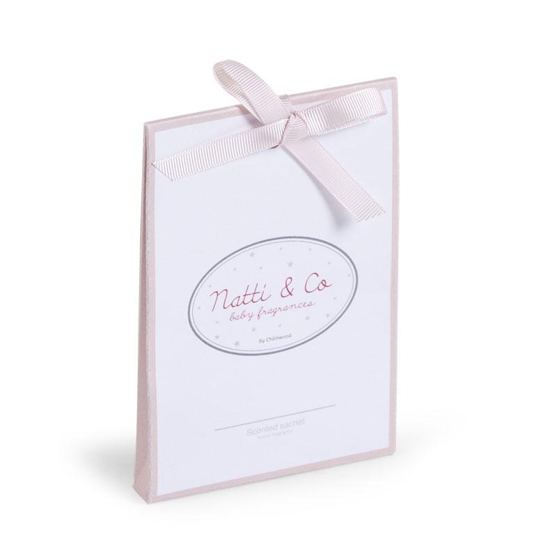 Saculeti parfumati Natti & Co roz pentru camera bebe - 6 bucati imagine