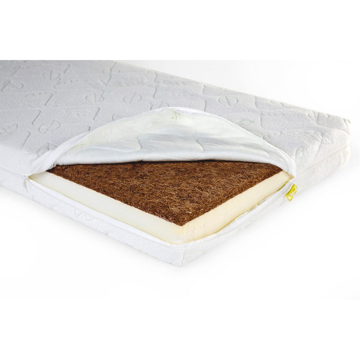 Saltea din fibra de cocos DUO KOKOS NATURAL SAFE SLEEPER 70x140cm imagine