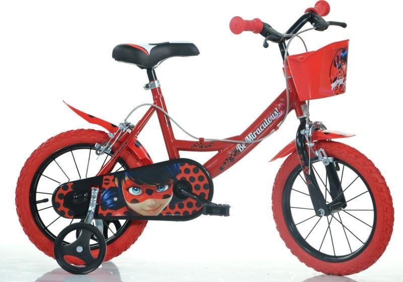 Bicicleta copii 14`` MIRACULOS-BUBURUZA