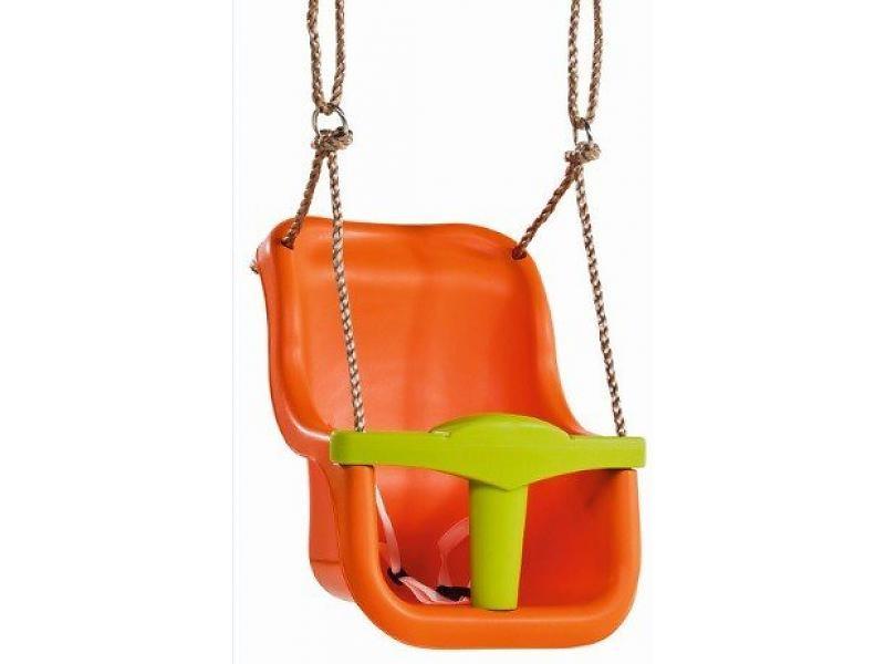 Leagan pentru copii Luxe PP portocaliu - verde lime imagine