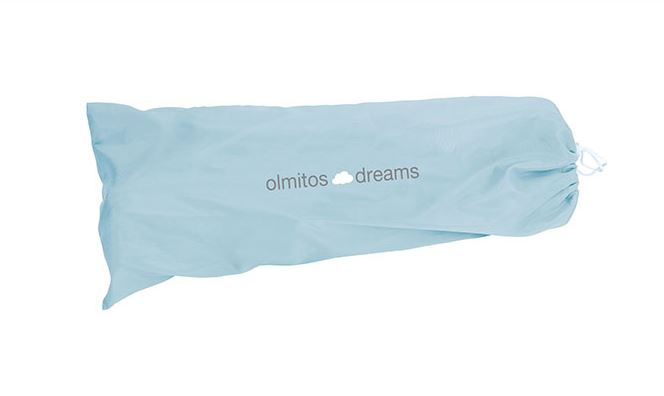 Olmitos - Protectie pat rabatabila pentru somiera adancita 150 cm Dreams Blue