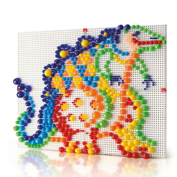 Joc creativ Fanta Color Modular 4 Quercetti creatie imagini mozaic 600 piese