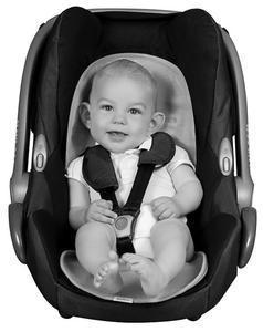 BabyMatex - Protectie antitranspiratie pentru scaun auto Aeroline Paddi rosu
