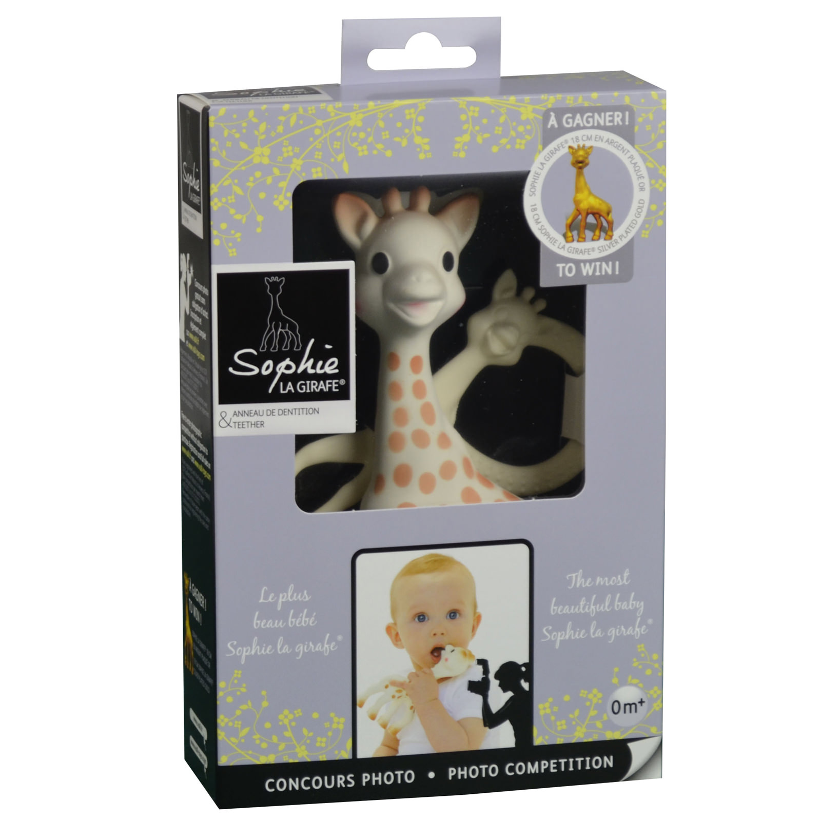 Set Girafa Sophie Si Inel Denititie Ed. Limitata