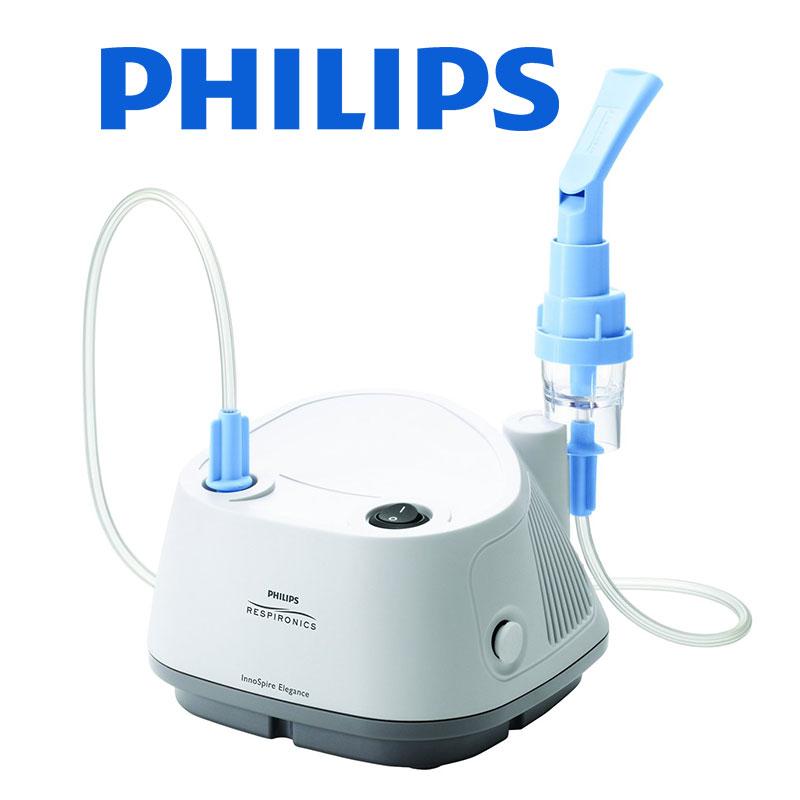 Aparat de aerosoli cu compresor Philips Respironics InnoSpire Elegance, MMAD 2.90 μm, Operare Continua, Sistem Active Venturi imagine