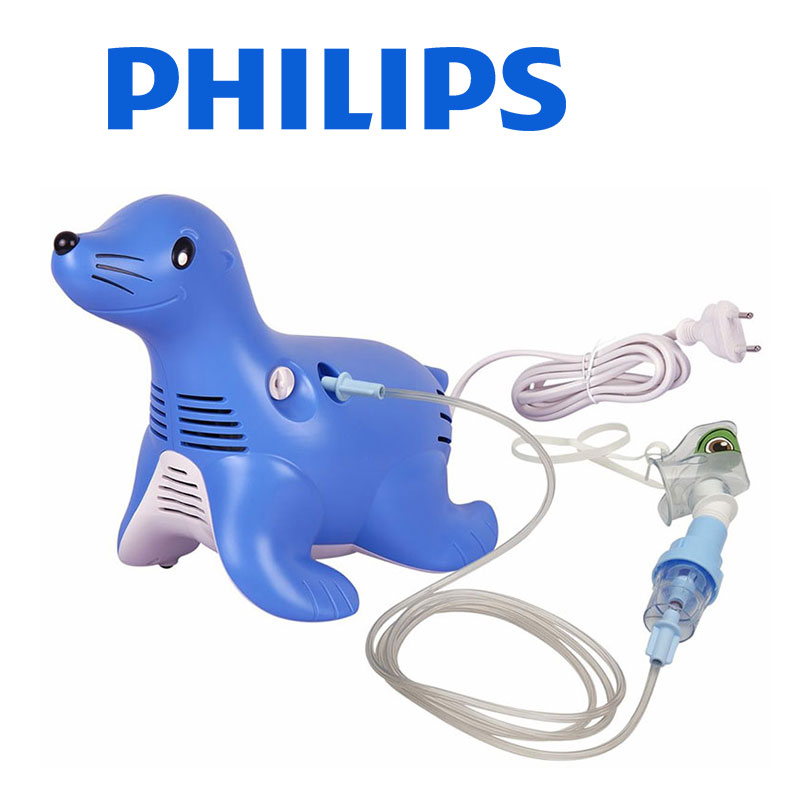 Aparat de aerosoli cu compresor Philips Respironics Sami the Seal, MMAD 2.80μm imagine