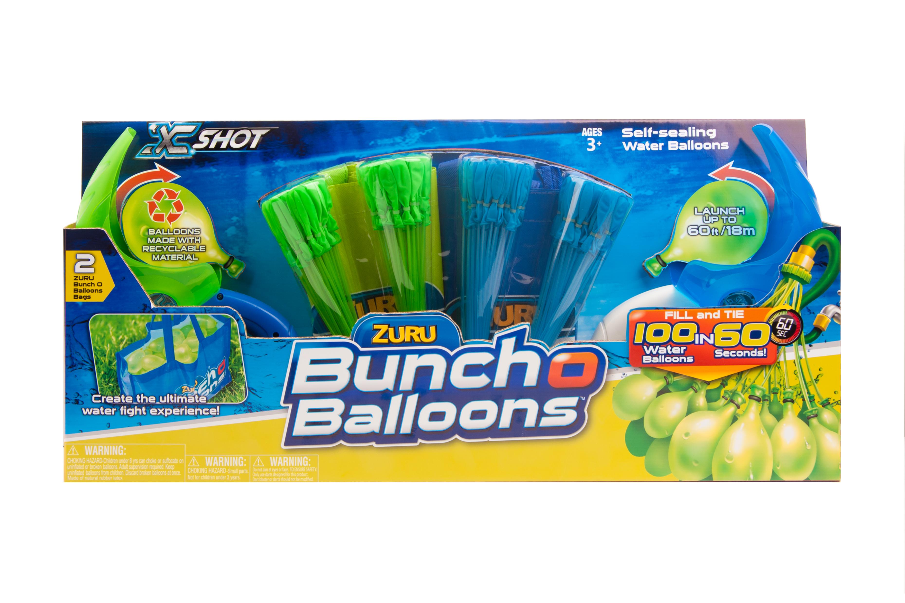 Baloane apa 'Bunch O Balloons - Rapid Fill' -cu 2 lansatoare