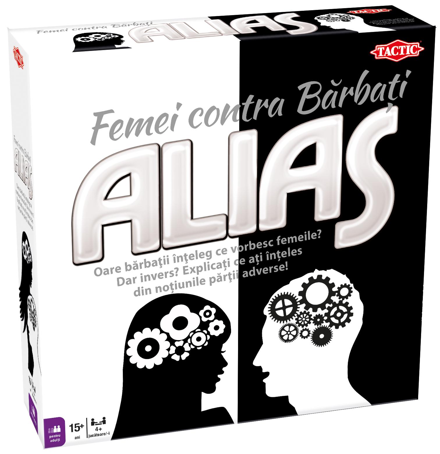 Alias Woman vs Men