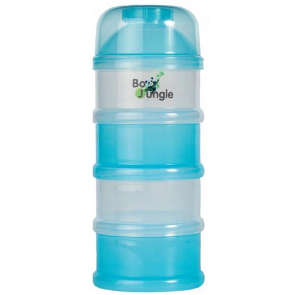 Containere albastre lapte praf BO Jungle cu 4 compartimente imagine