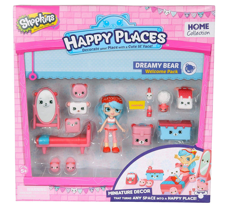 Happy Places S1 - Kit-ul de bun-venit PACK DREAMY BEAR imagine