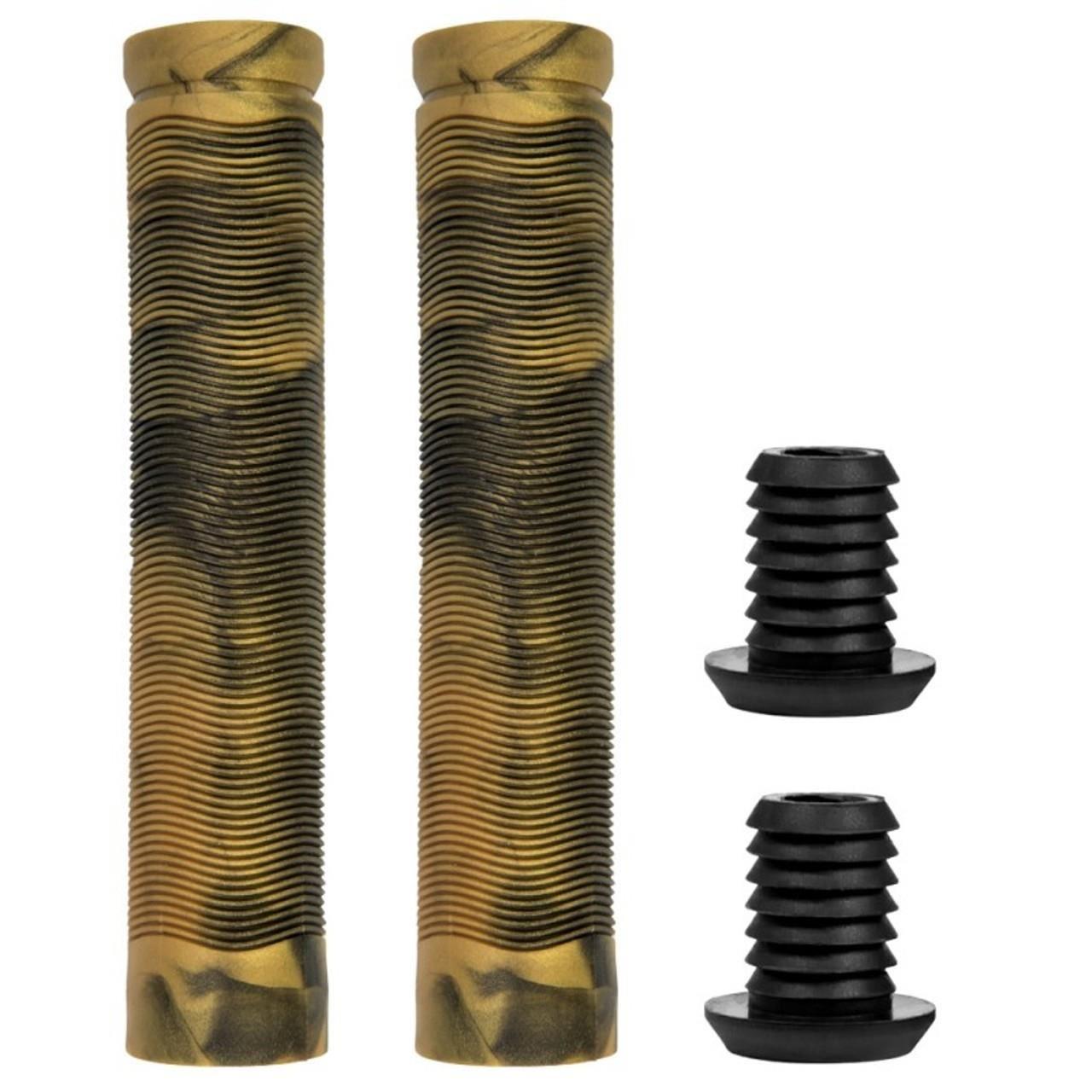 Mansoane trotineta Bestial Wolf MIX Black/ Gold 155 mm