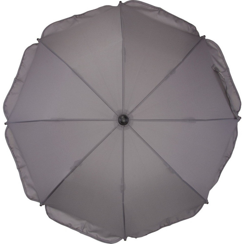 Umbrela pentru carucior 75 cm UV 50+ Grey Fillikid