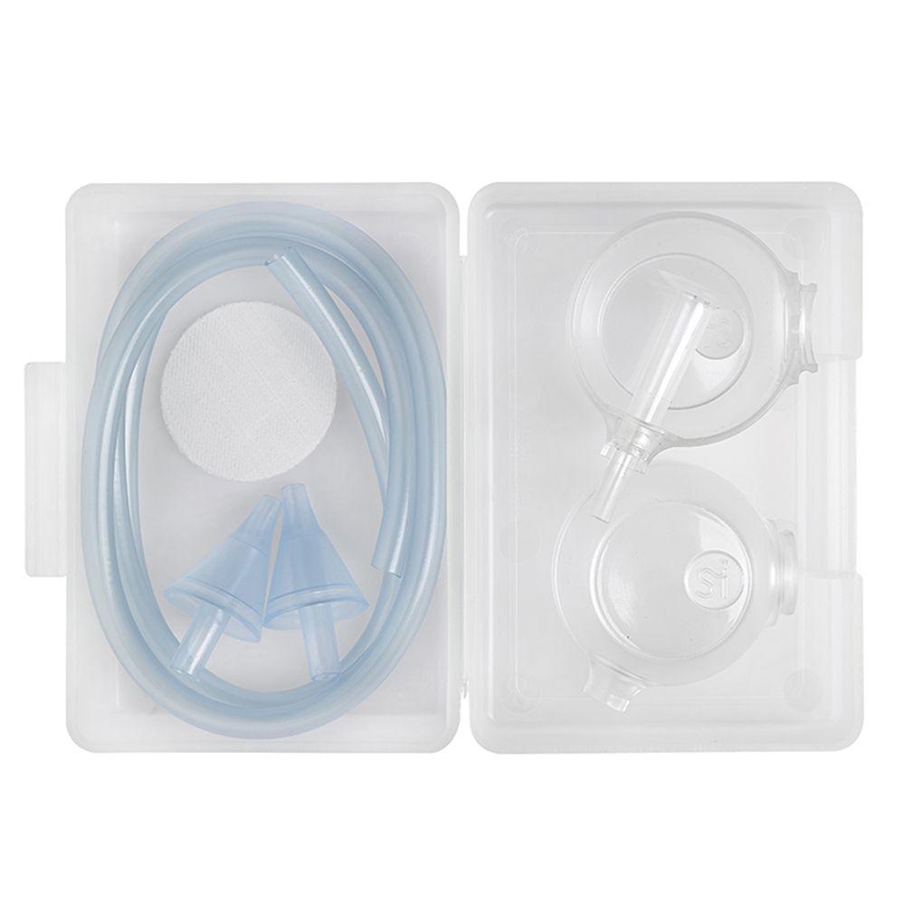 Nosiboo Family Pack - Blue Set De Accesorii Pentru Aspirator Nazal Electric Nosiboo