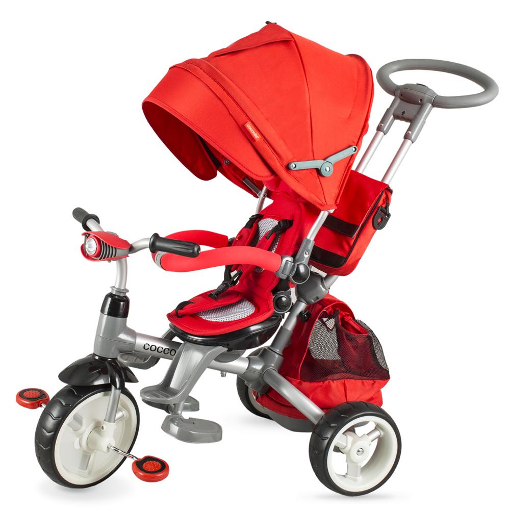 Tricicleta Coccolle Modi Rosu
