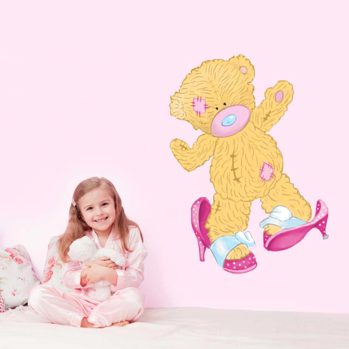 Stickere perete copii Ursulet dansator - 59 x 80 cm imagine