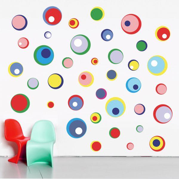 Stickere perete copii Bulinele Jucause - 120 x 61 cm imagine