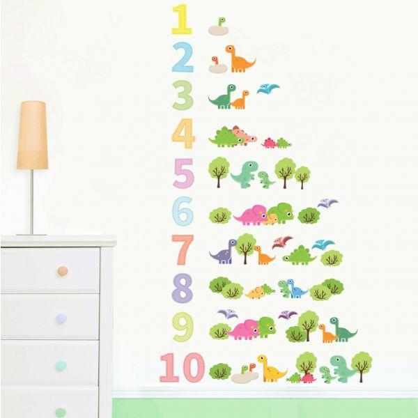 Sticker decorativ Lumea Dinozaurilor - 97 x 170 cm imagine